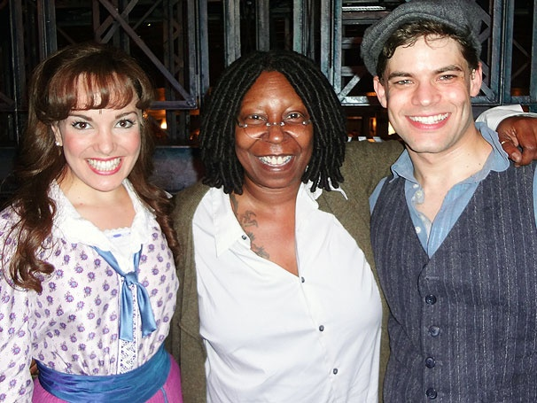 Whoopi Goldberg Savors the View at Musical Hit Newsies