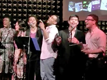 Corbin Bleu Sings Pocahontas! Lindsay Mendez Belts Wicked! Watch the Godspell Cast Pay Tribute to Stephen Schwartz