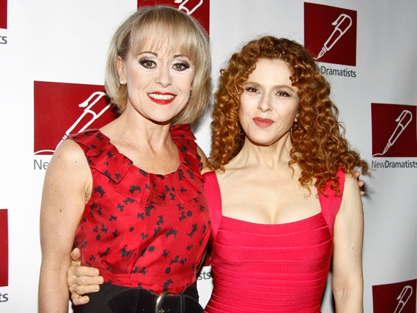 Broadway Raises a Glass to Bernadette Peters at New Dramatists' Luncheon