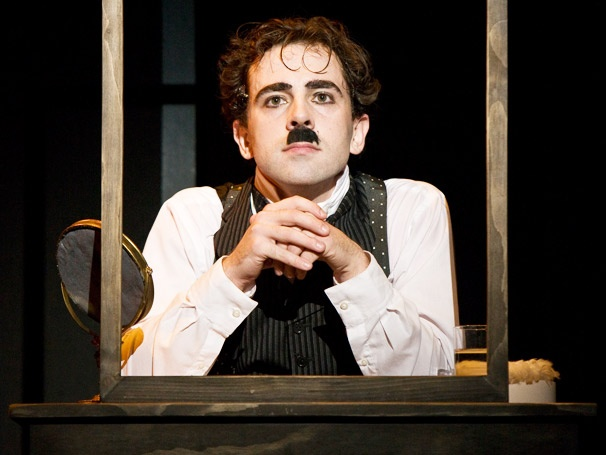 Chaplin Arrives on Broadway