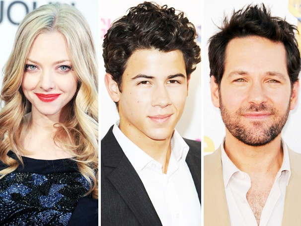 Amanda Seyfried, Paul Rudd, Nick Jonas, Sheryl Crow and More to Present at the 2012 Tony Awards