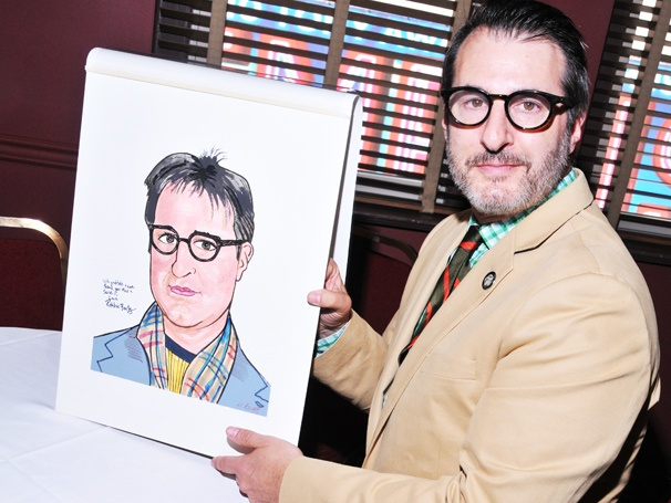 Other Desert Cities Scribe Jon Robin Baitz Receives a Sardis Portrait