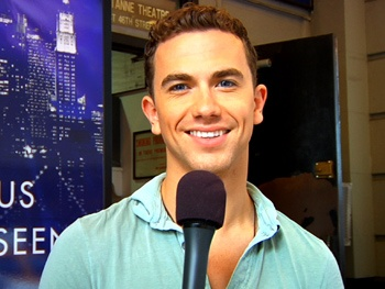 Backstage Tour of Ghost Hosted by Richard Fleeshman