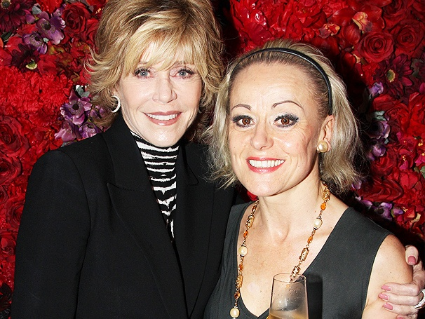 Oscar Winner Jane Fonda and Tony Nominee Tracie Bennett Toast at End of the Rainbow