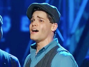 Watch Jeremy Jordan and the Cast of Newsies Seize the Day at the 2012 Tony Awards