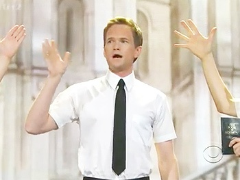 Ding Dong! Neil Patrick Harris and the Stars of The Book of Mormon Perform 'Hello' at the 2012 Tony Awards
