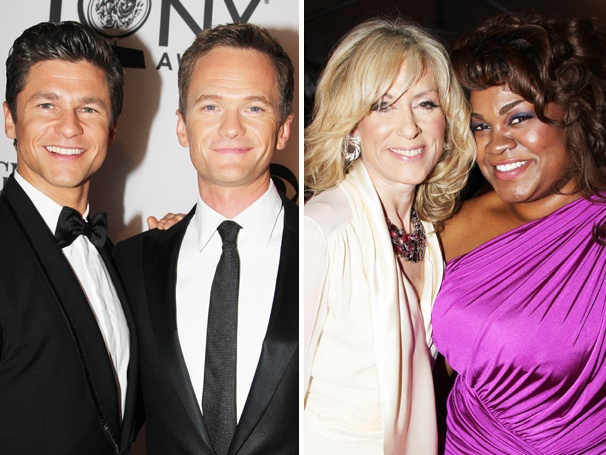 It Takes Two! Feast Your Eyes on Broadway's Best Pairs at the 2012 Tony Awards