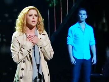 Are You A Believer? See the Spirited Tony Performance of Ghost, Starring Richard Fleeshman and Caissie Levy