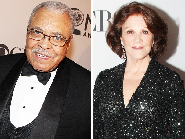 James Earl Jones, Linda Lavin & More Legendary Stars Walk the Red Carpet on Tony Night