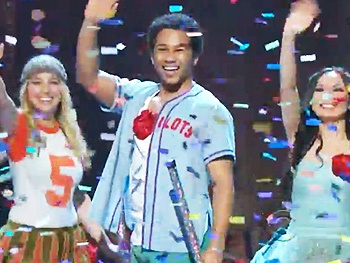 Corbin Bleu and the Stars of Godspell Light Up the 2012 Tony Awards