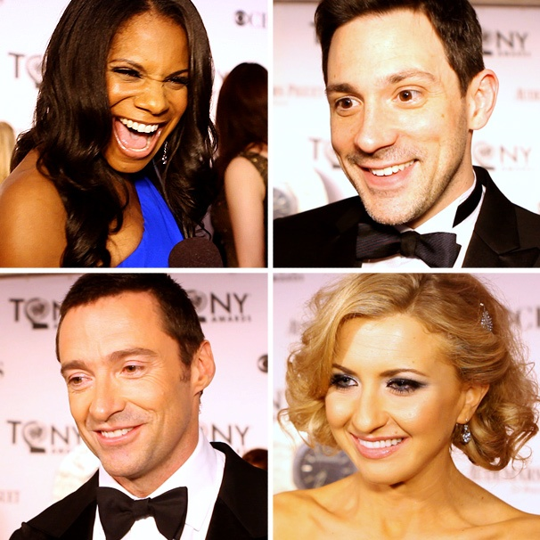 Red Carpet Action! Broadway.com Dishes with the Stars at the 2012 Tony Awards
