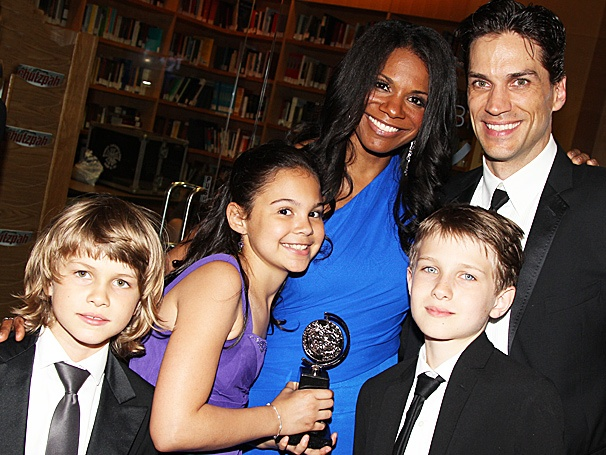 Tony Hot Shot! Audra McDonald Shares Her Big Night with Fiancé Will Swenson and Their 'Wee Posse of Three'
