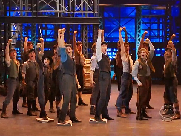 Tony Poll Results! Fans Loved Seeing Newsies Anthem 'Seize the Day' on the Tony Stage