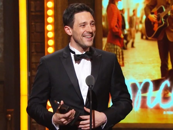 Broadway Buzz: Fans Loved Steve Kazees Surprised and Emotional Tony Speech