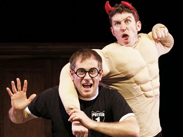 Happiness Can Be Found! Harry Potter Parody Potted Potter Opens at Off-Broadway's Little Shubert