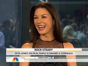Rock of Ages' Catherine Zeta-Jones Dishes on Her U2 Crush and Tom Cruises Ripped Body on Today