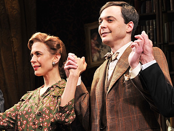 You're Invited! Jim Parsons, Jessica Hecht & More Celebrate Opening Night of Harvey