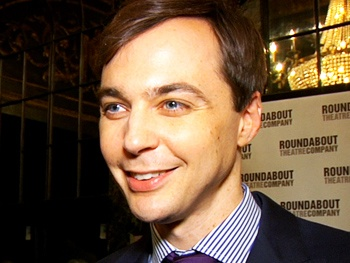Share the Opening Night Excitement with Jim Parsons & Jessica Hecht as Harvey Arrives on Broadway