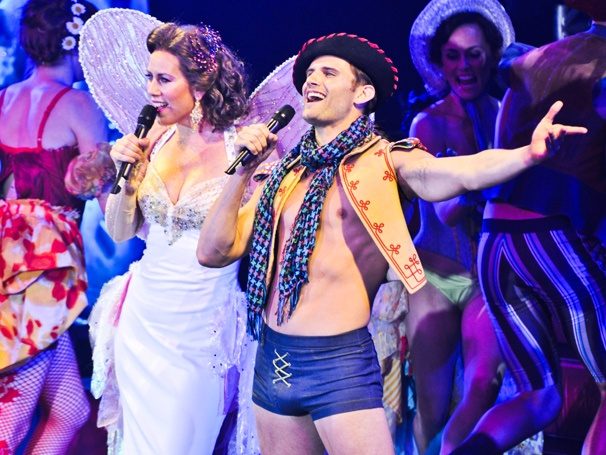 They're Sexy and They Know It! Kyle Dean Massey, Miriam Shor & More Star in Broadway Bares XXII: Happy Endings