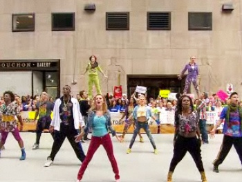 Hip-Hip Hooray! Watch the Cast of Bring It On: The Musical Flip Out on Today