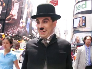 Chaplin Takes Manhattan! Charlie Catches a Show at B.B. King in New Broadway Promo