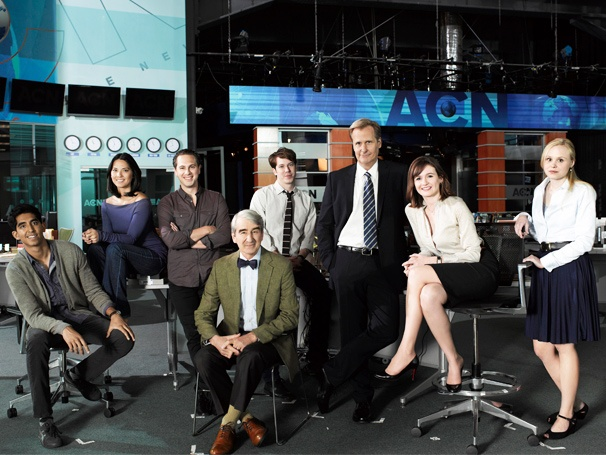 Broadway in The Newsroom! Sneak Preview of HBO's Hot New Drama