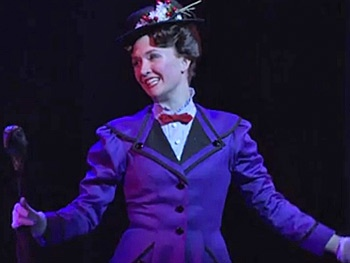 Watch How Mary Poppins Dresses to 'Smart and Sensible' Perfection on Stage