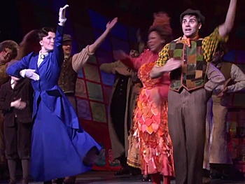 Watch That Nanny Move! See Mary Poppins 'Step In Time' in the Family Musical