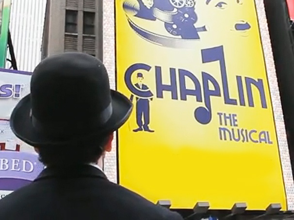 Chaplin Takes Manhattan! Charlie Explores Times Square in New Broadway Promo