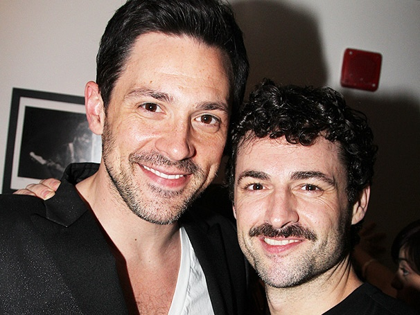 Broadway Stars Support Max von Essen as He Fills in for Ricky Martin in Evita