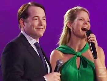 Nice Work Stars Matthew Broderick & Kelli OHara Bring the Roaring 20s to TVs A Capitol Fourth