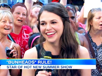 Bunheads' Sutton Foster Talks Dancing With the Stars & Her Ballet Body on Good Morning America