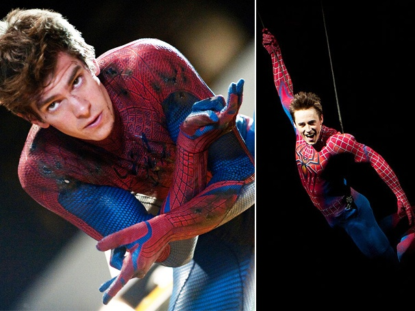 Spider-Man Star Reeve Carney on the Amazing Andrew Garfield: 'He Makes Me Proud to Put on the Suit!'