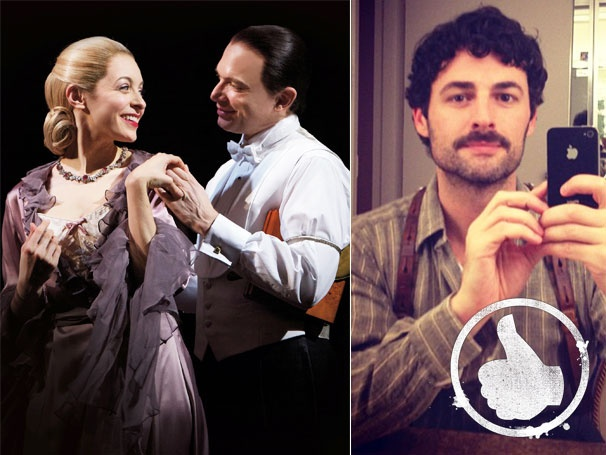 Thumbs Up! No Understudy Blues Here: Evita Shines with Max von Essen and Alternate Christina DeCicco