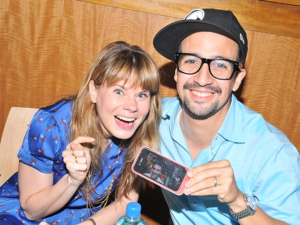 Like It Was: Lin-Manuel Miranda, Celia Keenan-Bolger & More Sign New Merrily We Roll Along Album