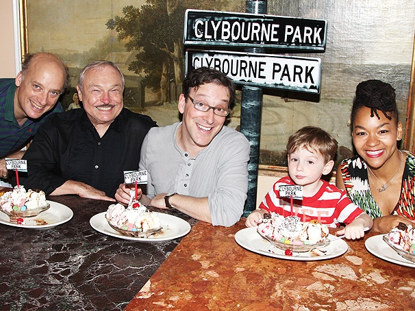 The Cast of Clybourne Park Savors a Namesake Sundae at Serendipity 3!