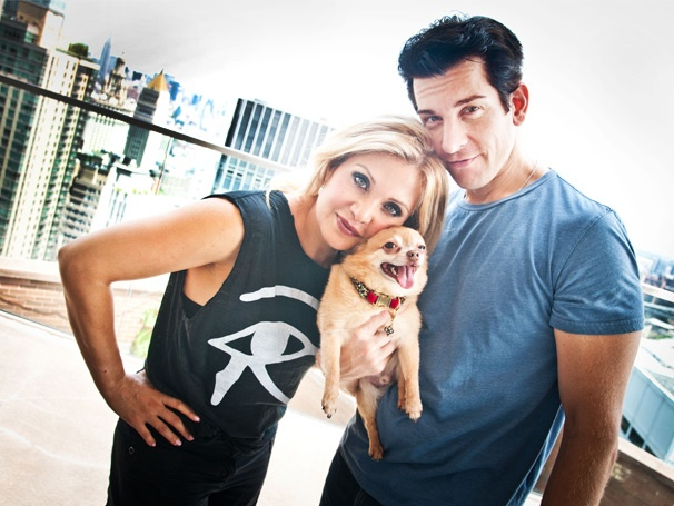 Lucky Dog! Jersey Boys Star Andy Karl and Orfeh Unleash Their Psychic Pomeranian-Chihuahua Boo