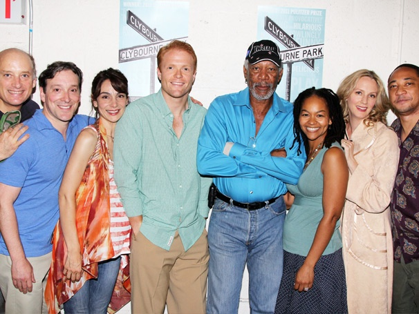 Oscar Winner Morgan Freeman Pays a Visit to Broadway's Clybourne Park