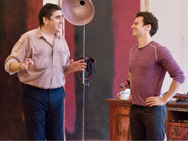 First Look at Alfred Molina and Jonathan Groff in Rehearsal for the L.A. Premiere of Red