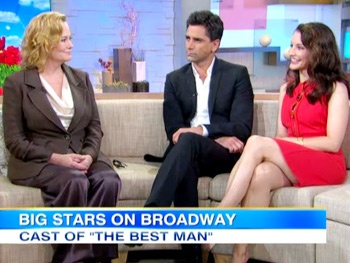 The Best Man's Kristin Davis, John Stamos and Cybill Shepherd Talk Sex and the City, General Hospital & More on GMA