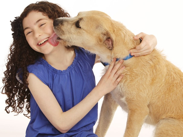 An Adorable First Look at Broadway's New Annie and Sandy, Lilla Crawford and Sunny