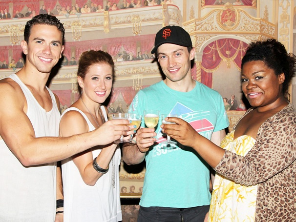 Happy 100 Shows, Ghost! Celebrate With Caissie Levy, Richard Fleeshman & More 