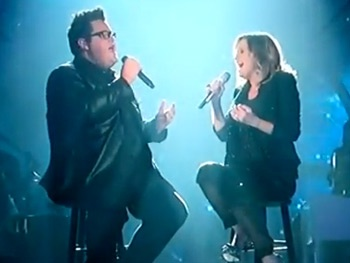 Feel the Love as Duets Runner-Up John Glosson & Jennifer Nettles Sing 'For Good' from Hit Musical Wicked