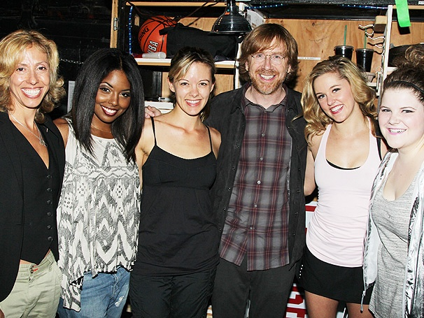 Phish's Trey Anastasio Joins Amanda Green to Cheer the Cast of Bring It On: The Musical