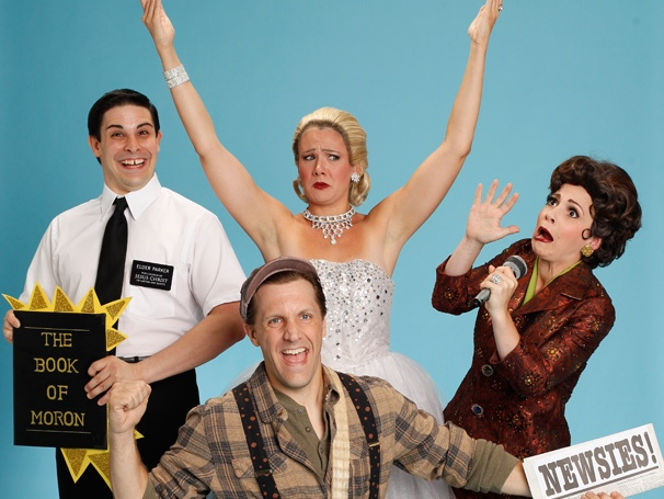 Forbidden Broadway: Alive and Kicking Opens Off-Broadway
