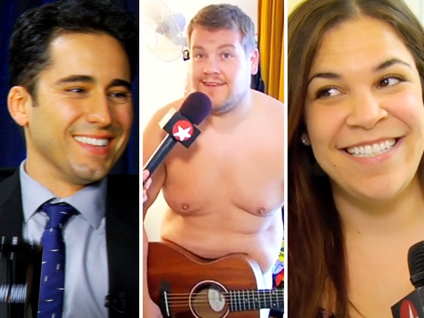 Top Five! John Lloyd Young Tells All, James Corden Gets Naked & More From This Week's Hottest Videos