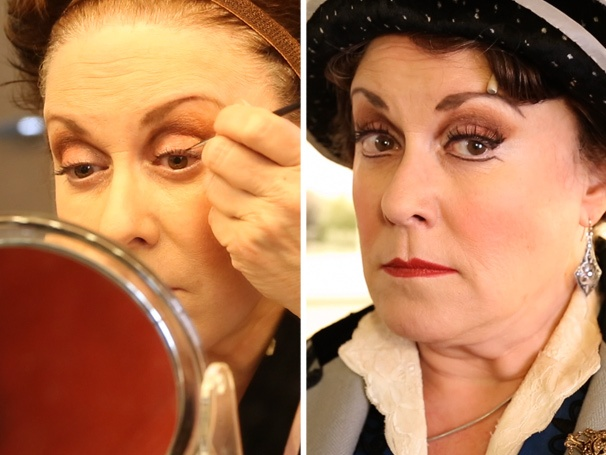 Broadway Buzz: See Nice Work If You Can Get It Star Judy Kaye's Regal Transformation Into Estonia Dulworth, the Duchess of Woodford