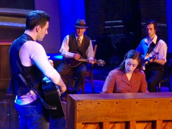 Watch Once Stars Steve Kazee & Cristin Milioti Sing 'Falling Slowly' on America's Got Talent