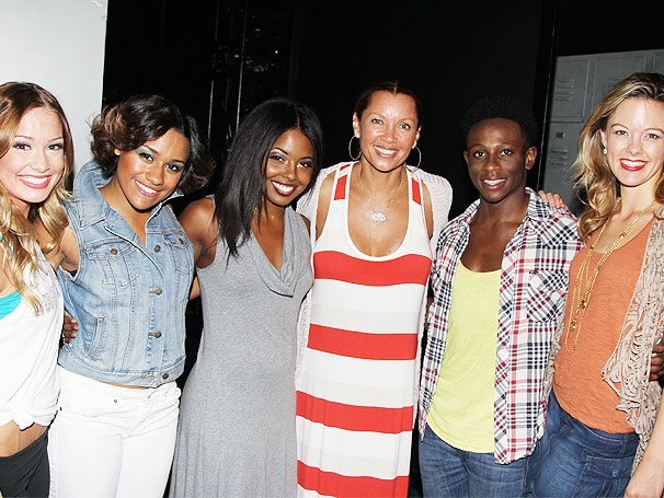 Vanessa Williams Catches the Spirit Backstage at Bring It On: The Musical