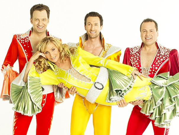 I Do, I Do, I Do! See Judy McLane, Aaron Lazar & the Cast of Mamma Mia! in New Promo Photos